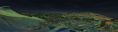 LiDAR Point Cloud of Golden, CO