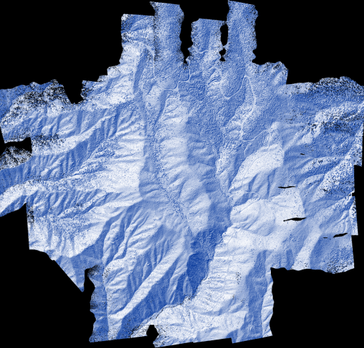 Surfer 2D & 3D Mapping, Modeling, and Analysis Software - Convert LiDAR data into other map types such as a shaded relief map.