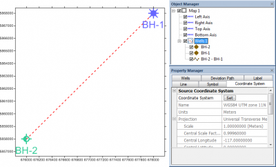 New Features of Strater 4: Coordinate System Support