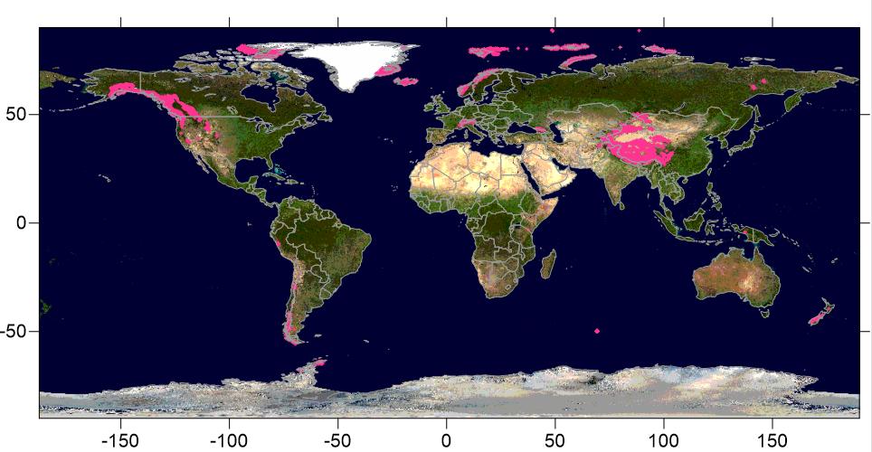 Where are the World's Glaciers?