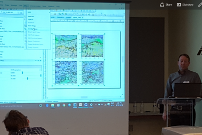 Golden Software Presents a Workshop at the GIS in the Rockies Convention