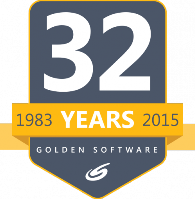 Golden Software Celebrates 32 Years in Business with a 32% Discount!