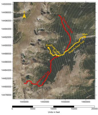 Using Surfer to Create Custom Trail Maps