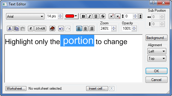 Grapher Text Editor