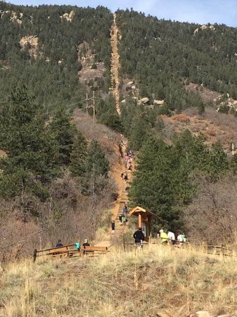 Base of the Manitou Springs Incline