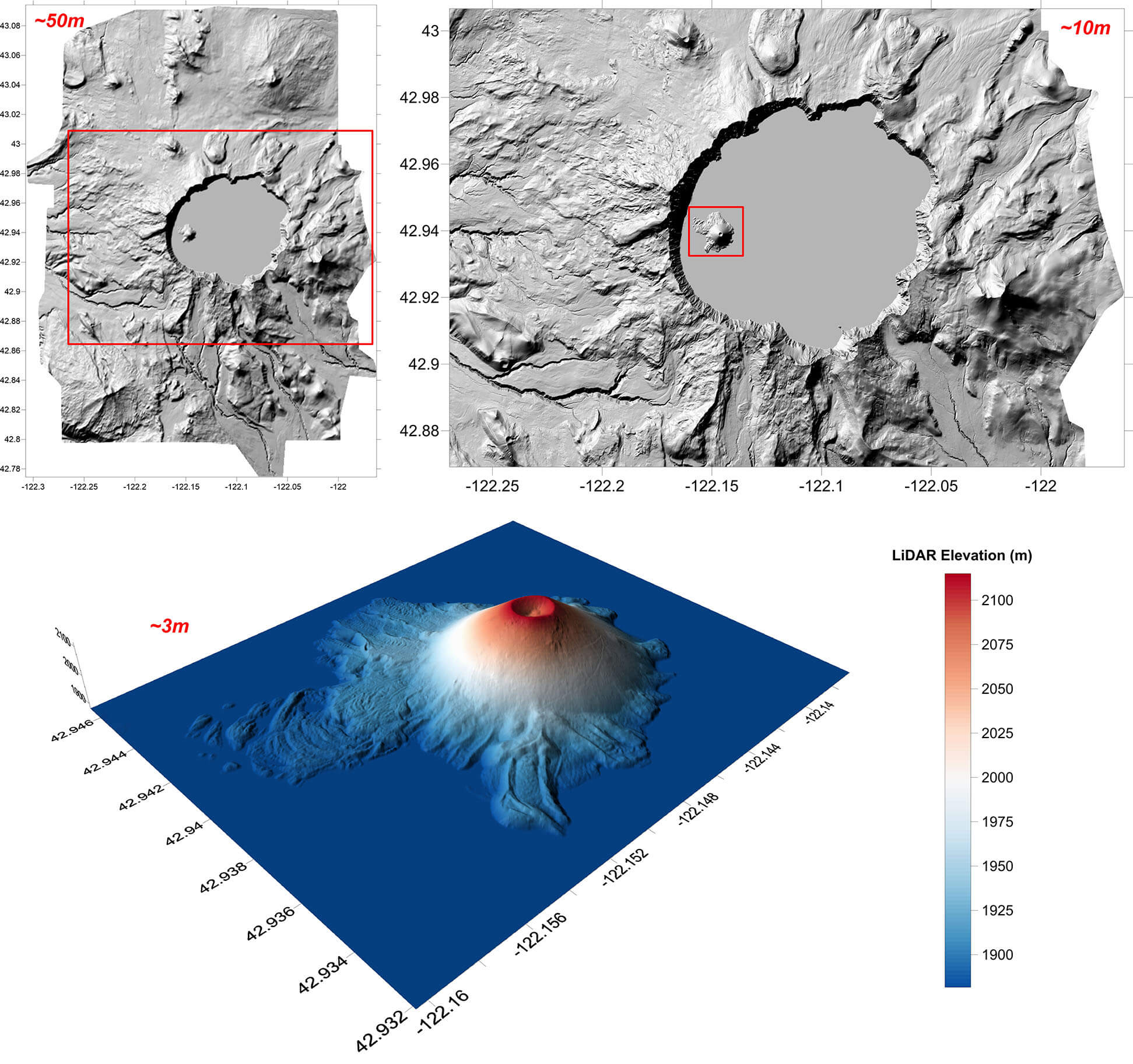 Crater Lake LiDAR Data