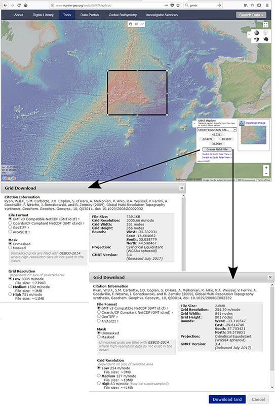 Visualisation of Multi-Resolution Public-Domain DEM Data