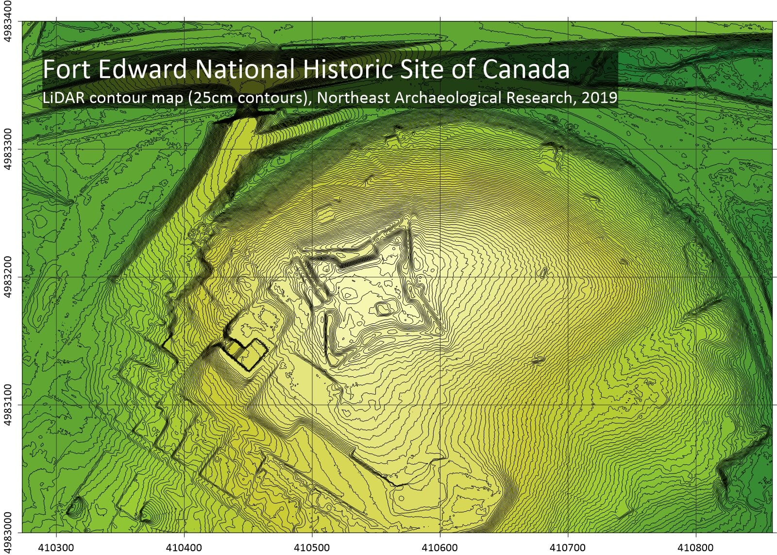 LiDAR Sheds Light on Architecture of 18th Century British Fort