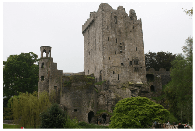 Day 2 in Paddywagon 9-day tour of Ireland: Blarney Castle.