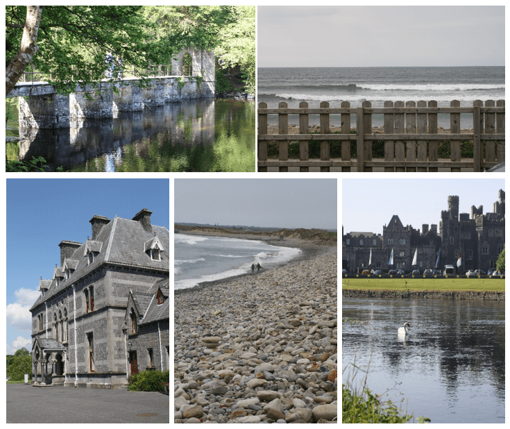 Day 6 in Paddywagon 9-day tour of Ireland: Cong, Museum of Country Life, and Strandhill.