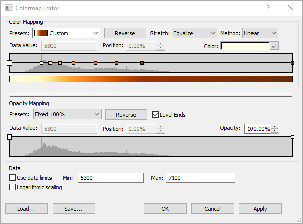 The new Colormap Editor in Surfer 16
