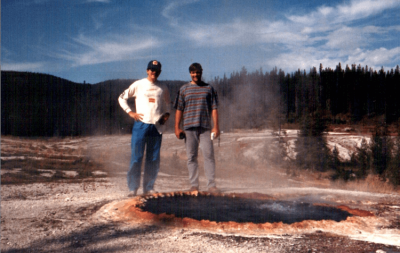 Dan Smith and Pat Madison - Yellowstone