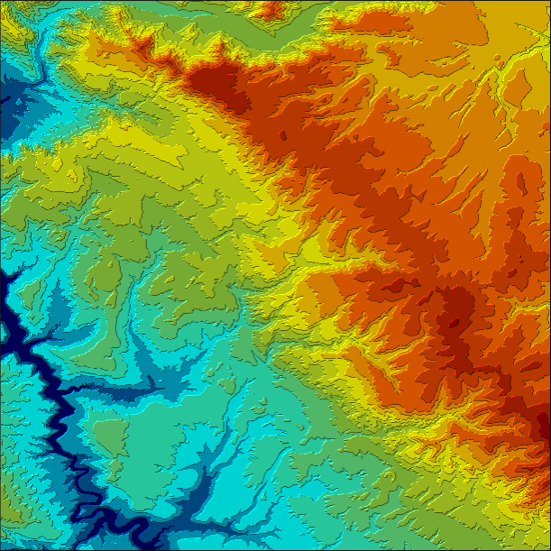 Illuminated contours using Tanaka method