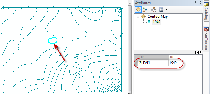 Adding contours from Surfer into ESRI ArcMap