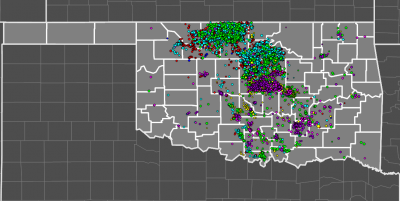 Visualization of Oklahoma's Induced Earthquakes