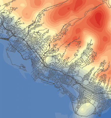 Quickly Interpolate Elevation Data with Raster Tools