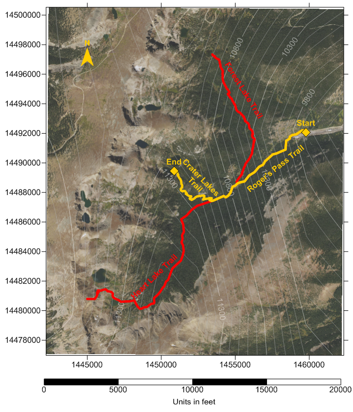 how to create trail maps