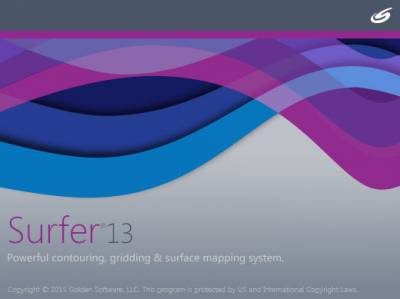 Golden Software Introduces Surfer 13: Newest 3D Mapping Visualization Software!