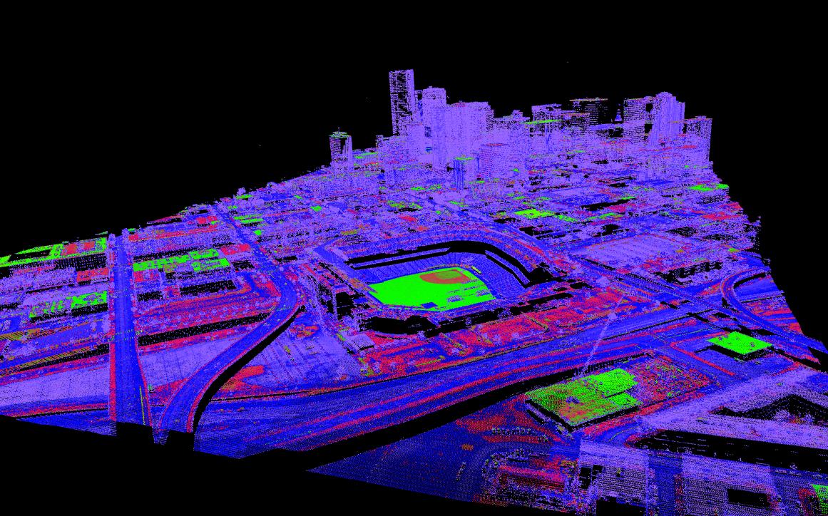 Software de modelado geológico y científico Voxler-3D: muestre fácilmente datos LiDar