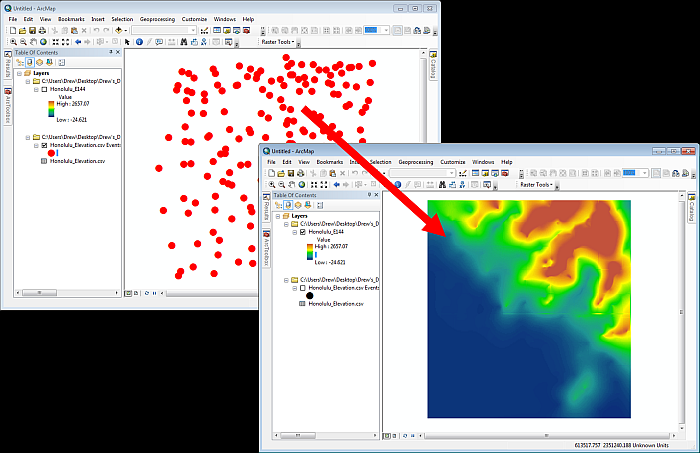 Raster Tools: Interpolation Add-in for Esri ArcMap