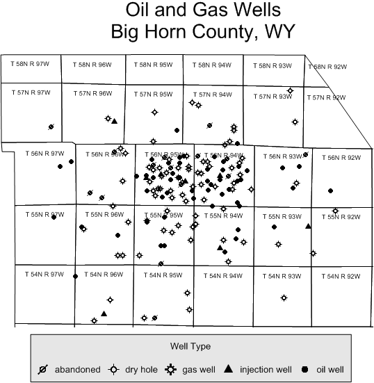 Wyoming Well Types