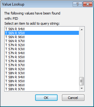 Query Attribute Lookup